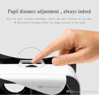 achat en gros de video sexe-2016 Google Vr Box 2.0 Version 2 Vr Virtual + Smart Bluetooth Wireless Remote Control Gamepad Pour le film bleu / jeu / video sexe ouvert
