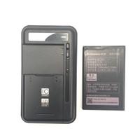 Wholesale Lenovo A278t Battery - 1PCS Universal battery Charger+1PCS BL203 1500mAh battery For Lenovo A66 A278T A365E A308T A369 A318T A385E BL203 Mobile Phone