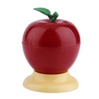 Wholesale Cute toothpick box fashion small portable fruit for apple shape vintage Romantic creative Automatic toothpick box