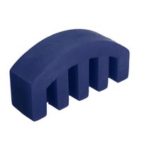 acoustic silencers - Blue Rubber Acoustic Violin Mute Silencer Violin Quiet Practice to reduce Volume or keep the sound down for all Violin