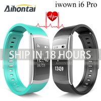 Wholesale New IWOWN IWOWNFIT I6 PRO Smart Wristband Heart Rate Monitor IP67 Waterproof Smart Bracelet Fitness Tracker support Andriod IOS