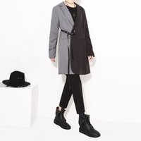 Cheap 2016 European Fashion Unique Tailored Women's Stripe Suit Jacket Casual Medium Long Blazer Coat Loose Outwear