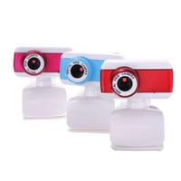 Wholesale Hot Sale Fashion With Mic Mega M USB2 HD Video Adjusting Brightnes Webcam Web Cam Camera For PC Laptop desktop Computer