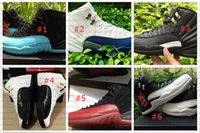 Wholesale 2015 Hot Cheap Retro Basketball Shoes White TAXI Flu Game gamma blue Playoff flint French Blue Cool Grey Retro Men Seankers