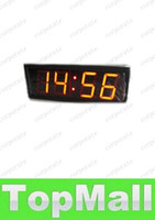 Wholesale LAI Character High HH MM MM SS Alternatively Countdown Count Up Timer Sport Event Race Running Clock Indoor Red LED Countdown Clock