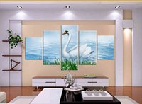 bamboo sunshine - Unframed pieces Canvas Prints swan dolphin sea wave mountain Bamboo rose tree heaven sunshine Charming scenery nature