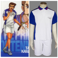 Wholesale The Prince Of Tennis Anime Seigaku Summer halloween Cosplay Costume
