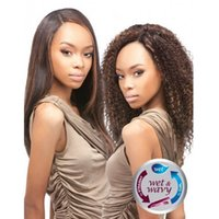 outre - Outre Duvessa Remi Human Hair Wet Wavy Indian Curly Weaving Extension