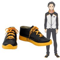 Wholesale Anime Re Life in a Different World from Zero Natsuki Subaru Cosplay Party Shoes Custom Made