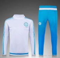 best sweats - 2015 Marseille tracksuits Best quality survetement football training suit sweat top chandal soccer jogging football
