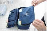 lingerie 3x - 3X Organizer Bag Waterproof Bra Underwear Box Lingerie Packing Cube Pouch