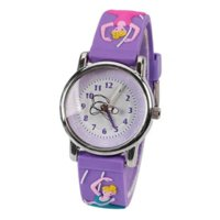 baby girl watches - Children Silicone ballet Wristwatches Waterproof Kid Watches Brand Quartz Wrist Watch Baby For Girls Boys Fashion Casual Reloj