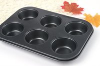 Wholesale Pan Muffin Cupcake Bake Mould Bakeware Cups Dishwasher Safe Versatile Sturdy Cooking Tools Kitchen Chocolate Accessories