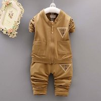 baby boy activewear - Boys Clothing Sets Baby Clothes Fashion Sports Activewear Autumn Coat Casual Trousers Boys Suits Children Set Kids Outfits Ciao C27685