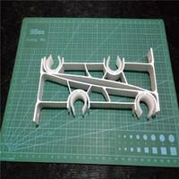 aluminum grommets - 2 Curtain Rod Drapery Pole Double Aluminum Alloy Bracket White