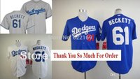 beckett new jersey - 2015 New Josh Beckett Jersey Los Angeles Dodgers throwback Jerseys Cool Base Mens Baseball Home Grey Retro White Embroidered Logo