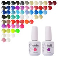 Wholesale 12PCS Set Gelpolish ml Mulit Color Soak Off UV Top Coat UV Gel Polish Nail Art Nail Gel Polish for Nail Gel