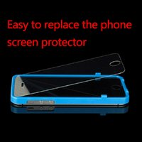 Wholesale In Stock Phone Screen Replacement Aid Helper Case Frame Shell for iPhone quot New Arrival
