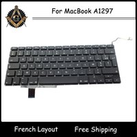 Wholesale New for MacBook Pro quot A1297 French France FR AZERTY Francais Keyboard Year