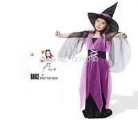 best children s halloween costumes - Hot Halloween Party Supplies Gauze Female Witch Clothes Cosplay Suit Costume For Children Kids Girls Best Gifts Halloween Dress