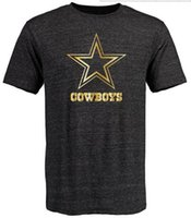 banner t shirt - Cowboys T Shirts cheap rugby football jerseys Dallas Salute To Service Banner Wave Black Gold Collection Tshirts freeshipping