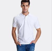 Wholesale 2016 Fashion Polo Man Summer Solid Polo Shirt Casual Polo Shirts Men s Short Sleeves Shirt T shirt Men Sport Shirts