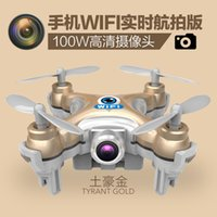 Wholesale 100w pixels Mini remote control aircraft charging helicopter high definition aerial UAV control model helicopter rotor real time aerial