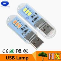 Wholesale LED USB Light Lamp Mini USB LED Night Light Bulb with Touch for Laptop Computer Desktop PC USB Gadget