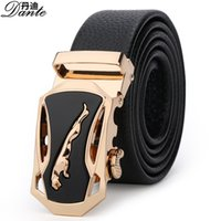 automatic classic cars - Men s Business Belts Top Quality Classic Real Leather belt Fashion Automatic Buckles Men s Belt Genuine Leather Belts Texture Leather Belts