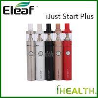 air start system - Eleaf iJust Start Plus Kit mah iJust Plus Battery Dirct Output Voltage System Single Button Operation ml GS Air Atomizer colors