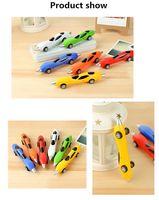 Wholesale High quality pens Creative Design Car Shaped Ballpoint Pen mm Superfine nib Children Student Gift Stationery office ball point pen