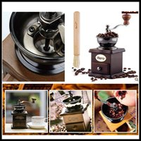Wholesale High Quality Iron Core Manual Hand Grinder For Coffee Coffee Mill Grinder
