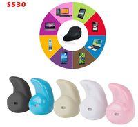 Wholesale Sport Running S530 Mini Stealth Wireless Bluetooth Earphone Stereo Headphones music Headset Retail Box DHL free