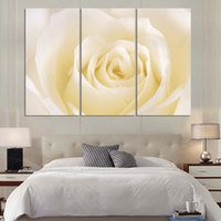 beautiful love pictures - 3 Panel Modern Painting Home Decorative Art Picture Paint on Canvas Prints A charming beautiful rose represents love no frame
