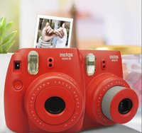 Wholesale Fujifilm Instax Mini Instant Film Camera Fujifilm Instax Mini Instant Film Photo Camera Yellow Blue White Red Pink Purple