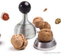 Wholesale factory seCreative tools to open spring device nutcracker nuts walnut shell is broken open nuts peeled walnuts artifact folder