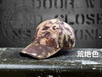 Wholesale ESDY Pioneeryao Men s Camo Tactical Hat Hunting Hats Outdoor Tactical Fishing On Foot Snapback Cap Baseball Hat