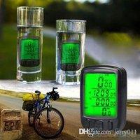 Wholesale LCD Bicycle Computer Odometer Waterproof Backlight Bike Cycle Speedometer PV6