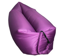 Wholesale Pocket Laybag lamzac inflatable Air lounge sleeping bag lamzac hangout Laybag Beach Sofa Lounge only Seconds Quick inflate Lay bag