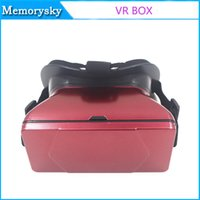 Wholesale 3D VR BOX Virtual Reality Headset D VR Glasses with Adjustable Head Strap for D Movies D Games Hot sale