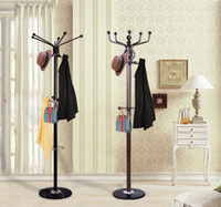 Wholesale Modern Coat Hat Rack Stand Umbrella Holder Hook Metal Base Rotating Top