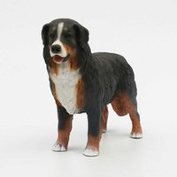 bernese mountain dogs - Artificial cute resin crafts New Simulate Bernese Mountain Dog Decorative and Collectible Resin Crafts made in China