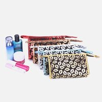 Wholesale Pu cosmetic bag good quality cosmetic bag leather bag PU ladies leather cosmetic bag with zipper