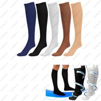 athletic knee support - 5 Colors S M L XL Miracle Socks Socks Anti Fatigue Compression Stocking Socks Calf Support Relief