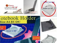 Wholesale Adjustable Notebook Stand Cooler Laptop Holder Cooling Pad degree rotating