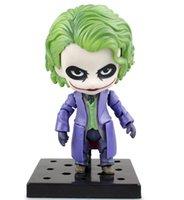 all'ingrosso dark and lovely-la vendita calda Batman The Dark Knight Joker figura dipinta bella 566 # Ver. Joker bambola PVC straordinaria figura di azione dell'eroe modello da collezione giocattolo T5270