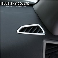 air conditioning tucson - Car Stainless steel Interior Air Conditioning AC Vent Cover Trim Inner Outlet Trim Frame For Hyundai Tucson