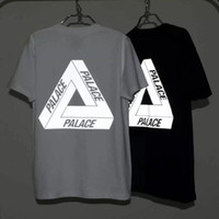 ba white - Palace Skateboards T Shirt Men dragon ball YEEZUS M Reflective t shirt Men Women BA PE Suprem T Shirt Men Cotton T Shirts