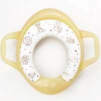Wholesale Mambo Baby Kid Children Potty Training Toilet Seat Handles Cushion Padded Safety