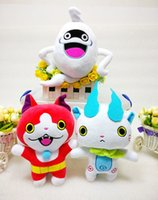 Wholesale Japanese Anime Youkai Watch Jibanyan Whisper Stuffed Plush Toy Soft Dolls gift